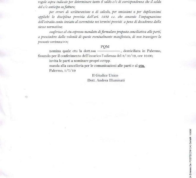Sentenza - Atto di precetto per mutuo parzialmente non pagato - pag 3